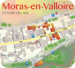 Plan de Moras-en-Valloire