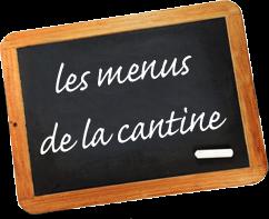 menus de la cantine en ligne