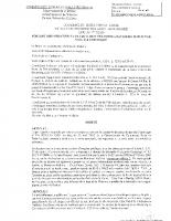 Arrêté Val d'Or consultation par voie électronique
