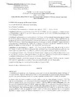 Arrêté correctif Val d'Or consultation par voie électronique