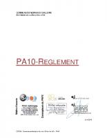 PA10-reglement MORAS