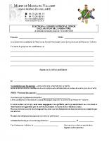 Déclaration candidature CMJ octobre 2020