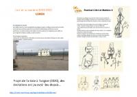 Présentation L'Art et la Matière Moras 2021