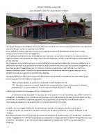 Présentation Sapeurs Pompiers CIS La Valloire 2021