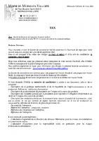 Courrier consultation repas cantine 2021