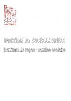 Dossier de consultation fourniture de repas cantine scolaire Moras 2021