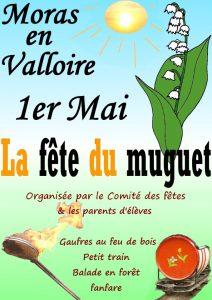 fête du muguet Moras-en-Valloire