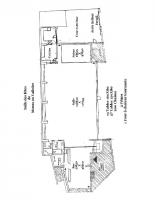 Plan intérieur salle des fêtes