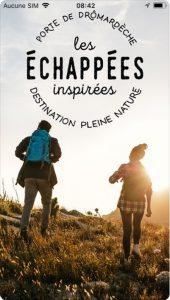 Appli Echappées Inspirées