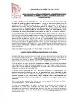Avis consultation électronique Val d'Or